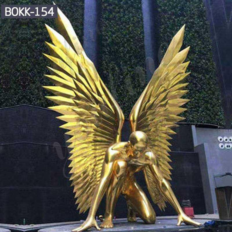 Life-Size-Bronze-Angel-Statue
