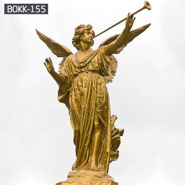 New Product Casting Bronze Angel With Wing Statue BOKK-155