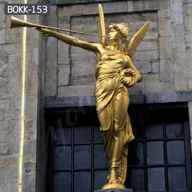 Life-Size-Figure-Bronze-Statue-Angel-Statue-for-Garden-Decoration-Wholesale-BOKK-153