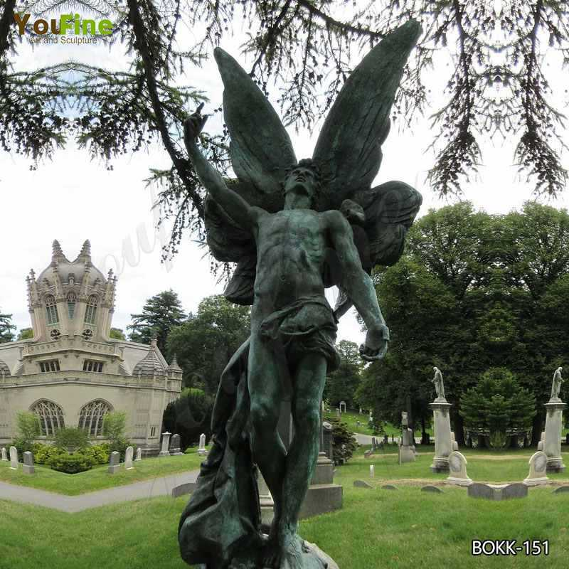 Chinese supplier High Quality Mexico Bronze Angel Statue BOKK-151