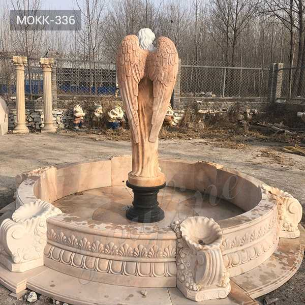 large outdoor water fountain garden statues for sale