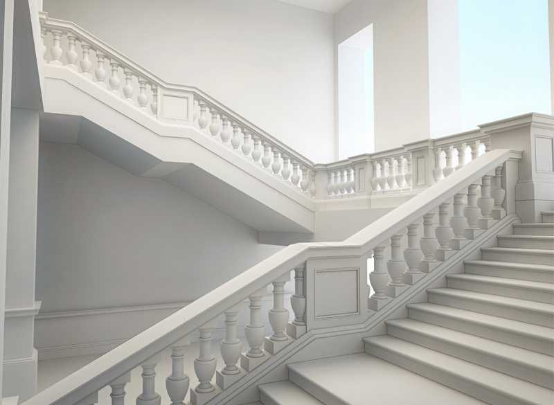 marble railing design price