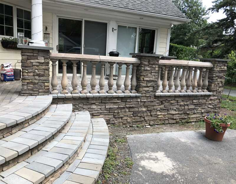 marble railing for villa for sale