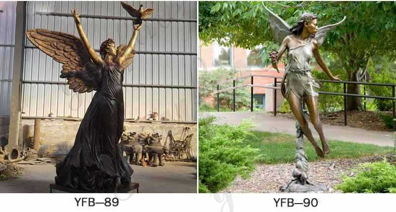 more designs of Bronze Angel Statues
