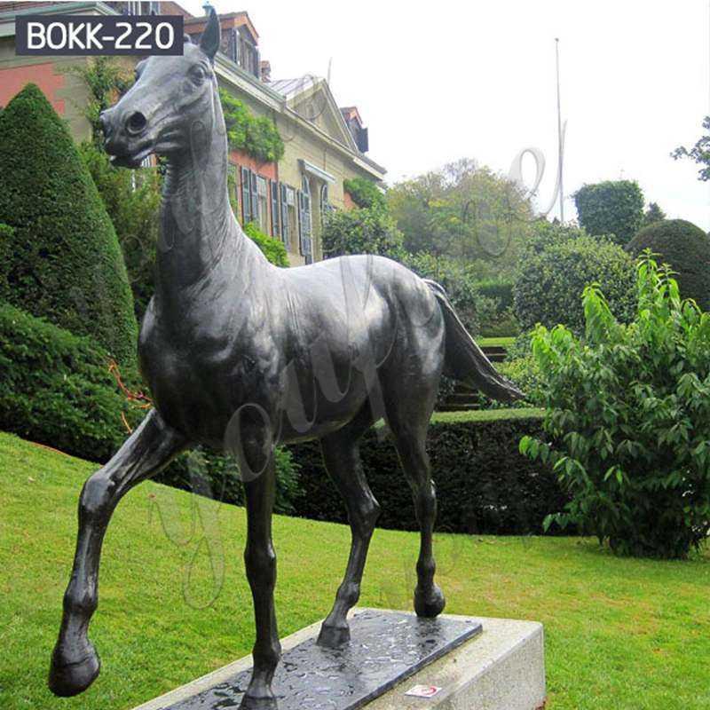 BOKK-220 Life Size Bronze Horse Statue for Sale