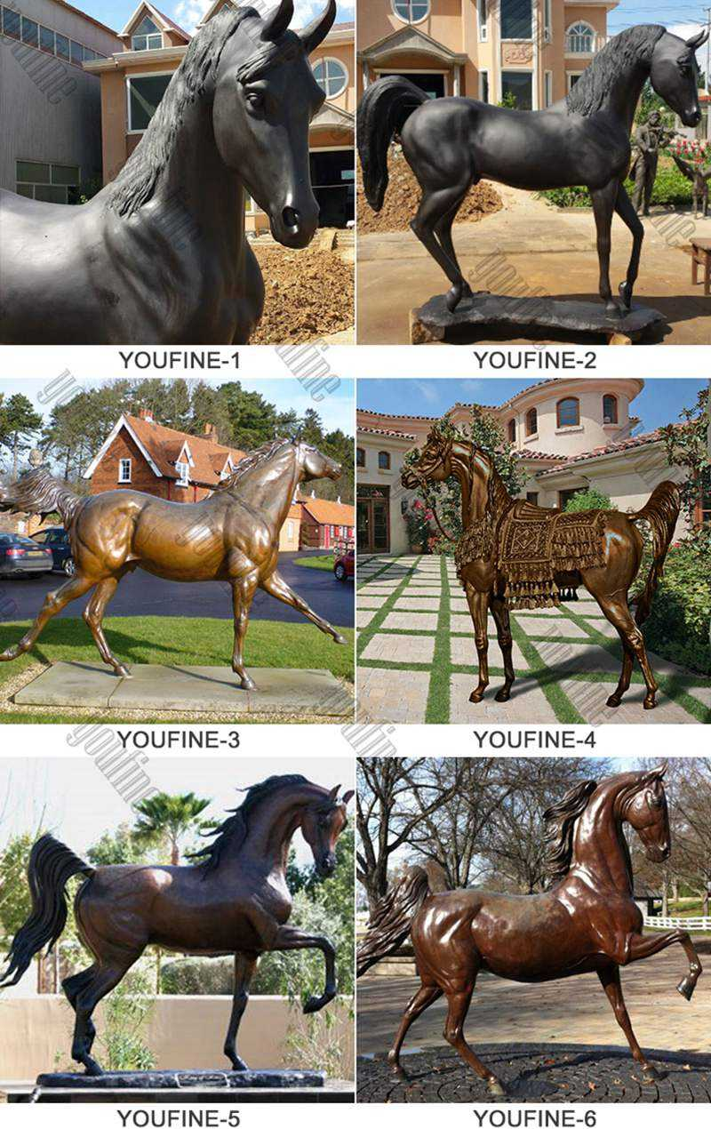 BOKK-664 Bronze Horse Statue for sale