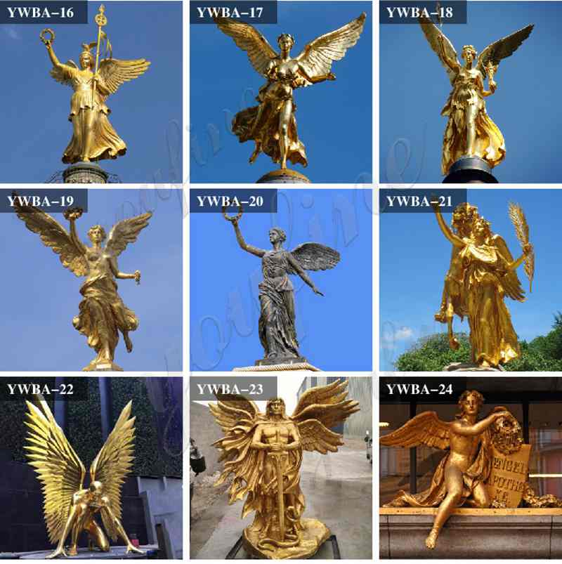 Bronze Classic Angle Sculptures for Sale