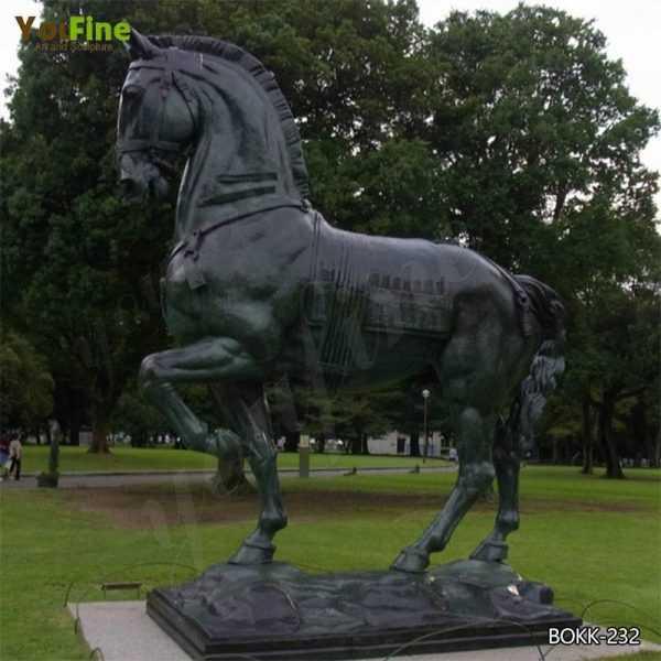 Bronze Horse Outdoor Sculpture