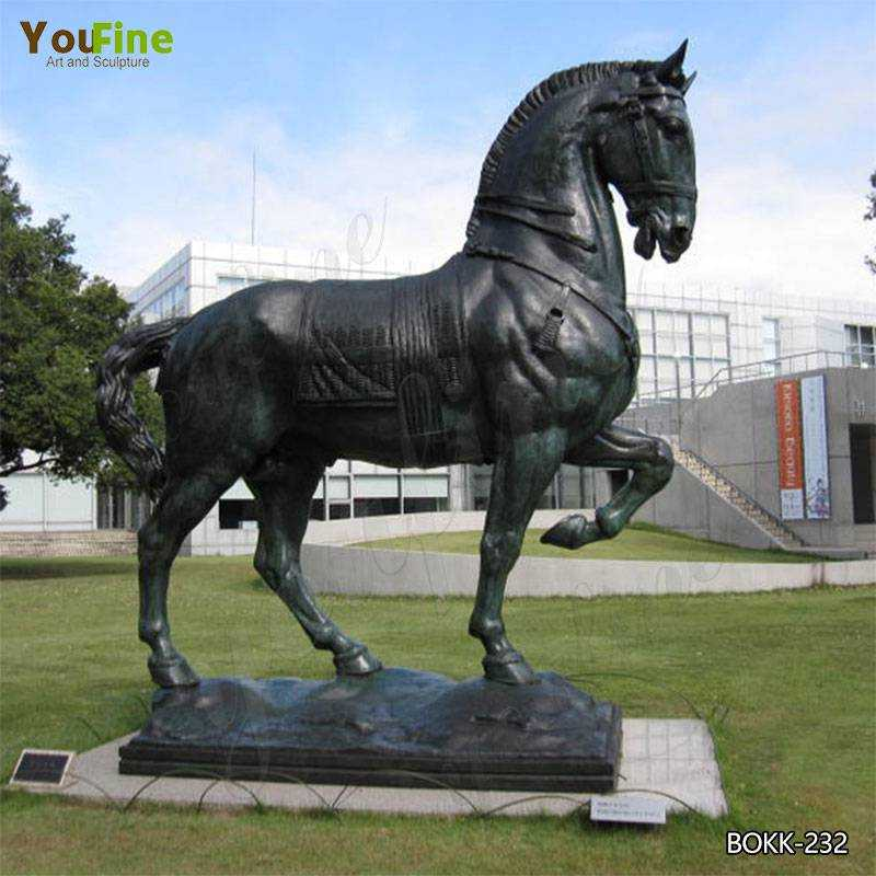 What You Want to Know About Bronze Horse Outdoor Sculpture  BOKK-232