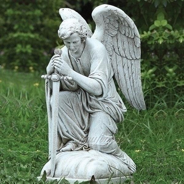 CHS-737 Saint Statues for the Garden Famous Archangel Statues Catholic Saint Sculpture Design Replica for Sale