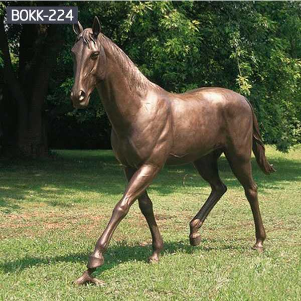 Do You Know What Is the Maintenance Method for Bronze Horse Sculpture-BOKK-220