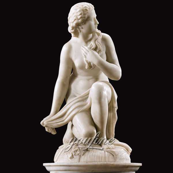 Ornaments of Scipione Tadolini Outdoor Garden White Marble Life Size Statue for Sale-MOKK-231