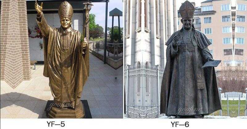 St. Pope John Paul II statue for sale