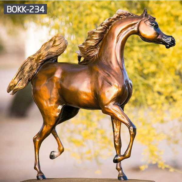 What You Want to Know About Bronze Horse Outdoor Sculpture - BOKK-232