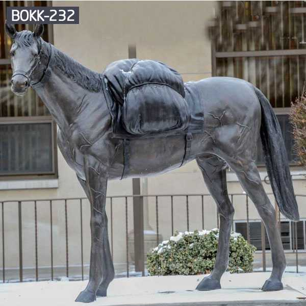 What You Want to Know About Bronze Horse Outdoor Sculpture – BOKK-232