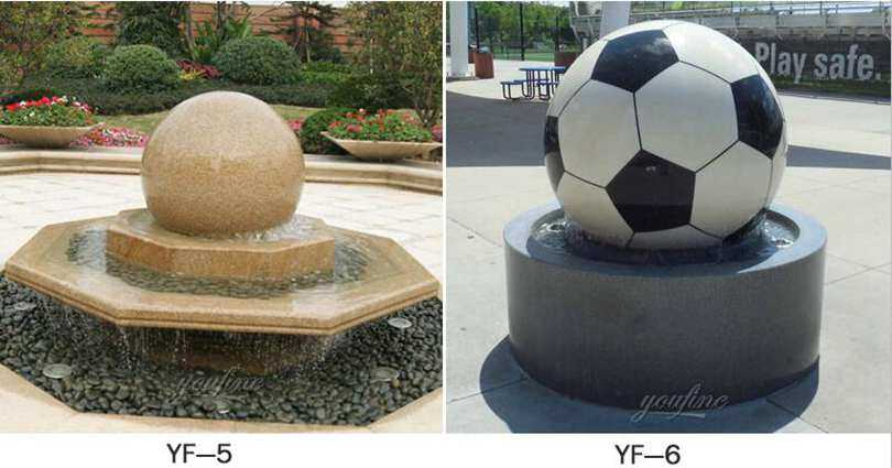 floating marble ball fountain for sale