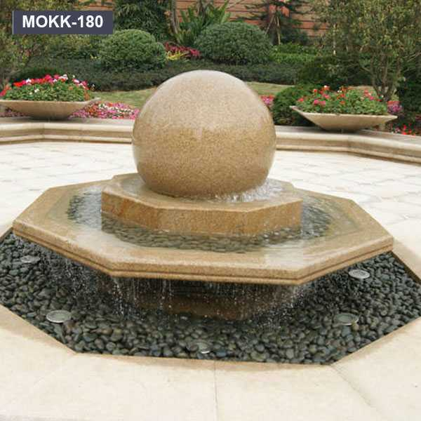 Floating Sphere Granite Fountain Stone Rolling Ball Sphere Fountain MOKK-180