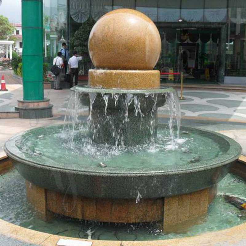 large spining water fountain for sale