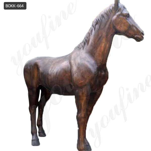life size bronze horse statues for sale
