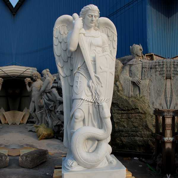 life size large archangel saint michael statue for sale