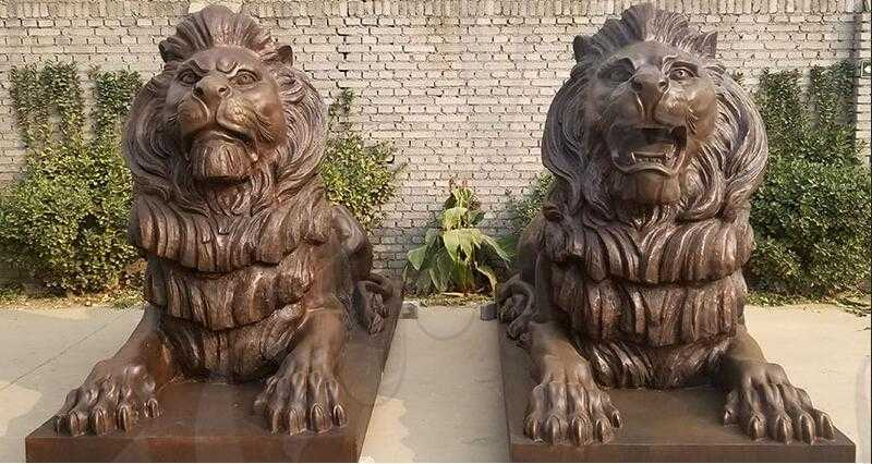 lion statue home decor for sale