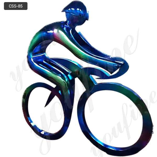 metal bicycle art sculpture for sale