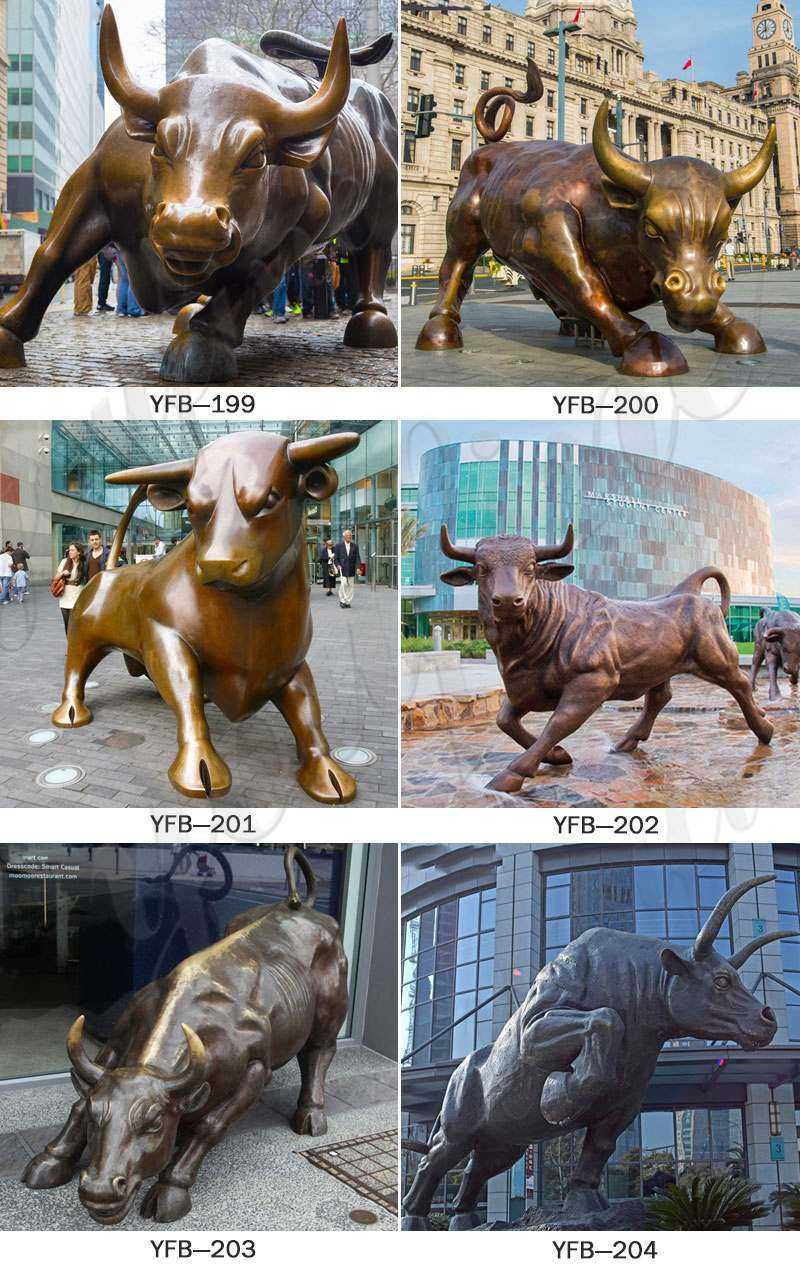 BOKK-671 Life Size Bronze Bull Statue