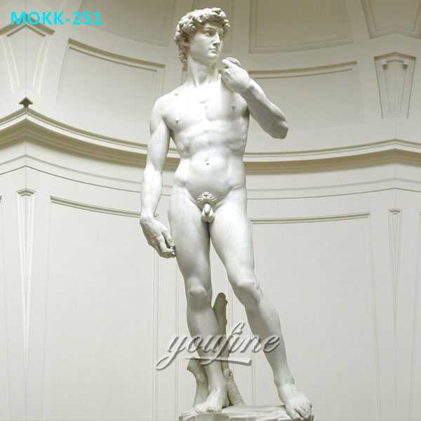 Famous-art-sculptures-in-the-world-life-size-Michelangelo-Sculptures-David-