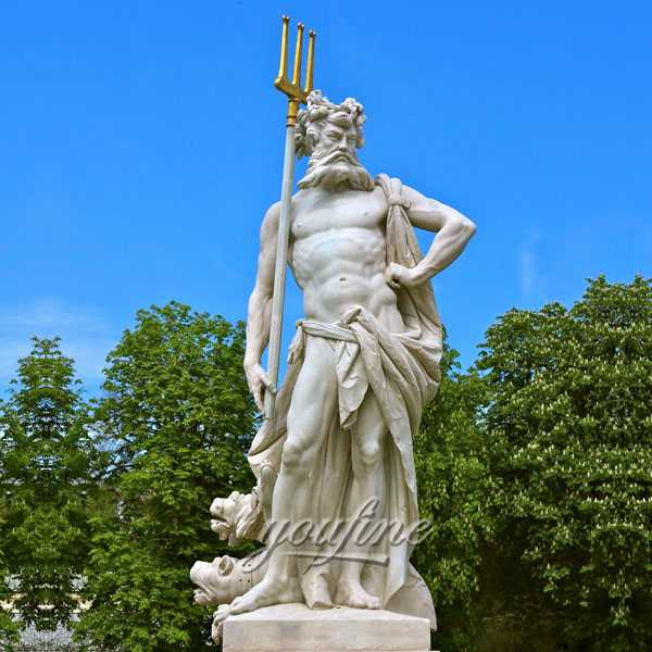 Outdoor Garden Gecor Life Size Marble Nymphenburg Statue Im Gartenparterre for Sale-MOKK-232