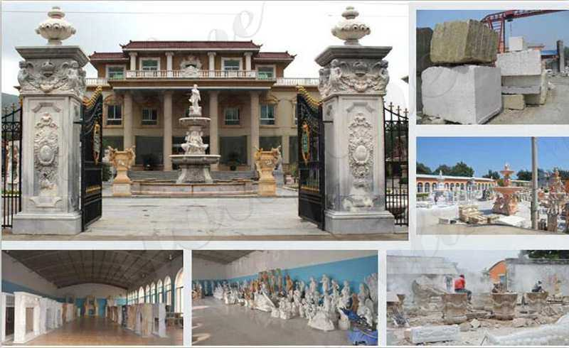 factory of marble sculpture