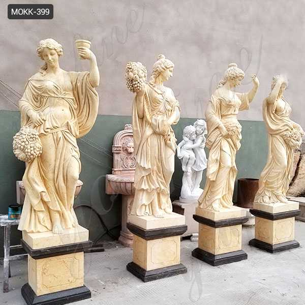 four seasons goddesses statue for sale