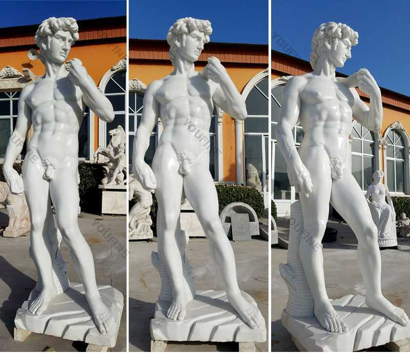 garden marble david statue for sale