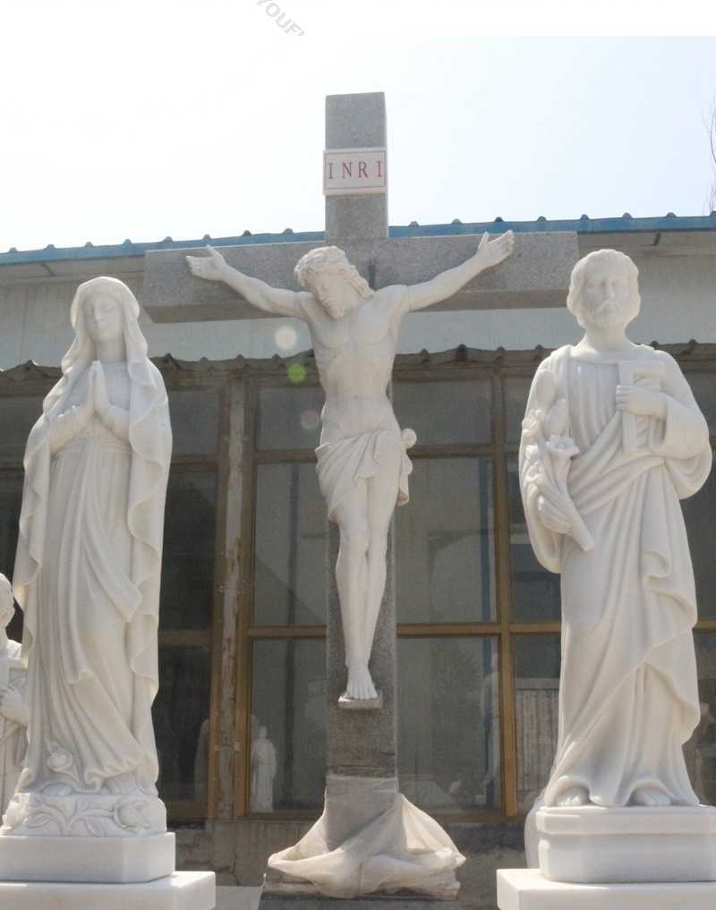 holy family outdoor statues for sale