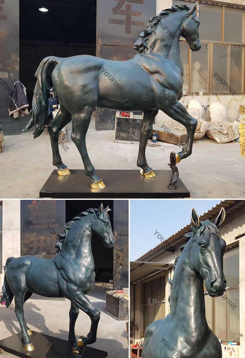 life size bronze horses for sale