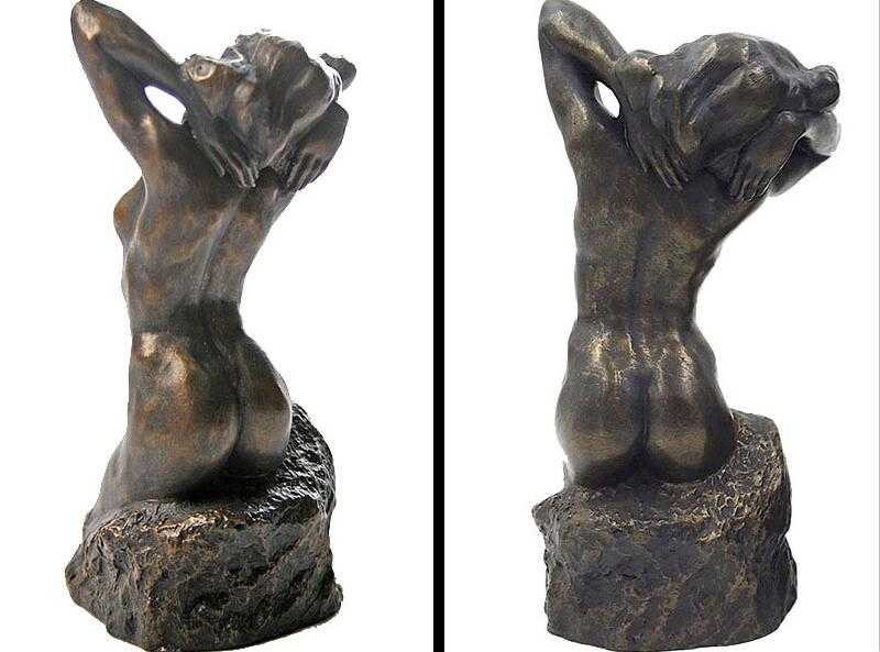life size famous bronze sculpture Robin the Bather replica for sale