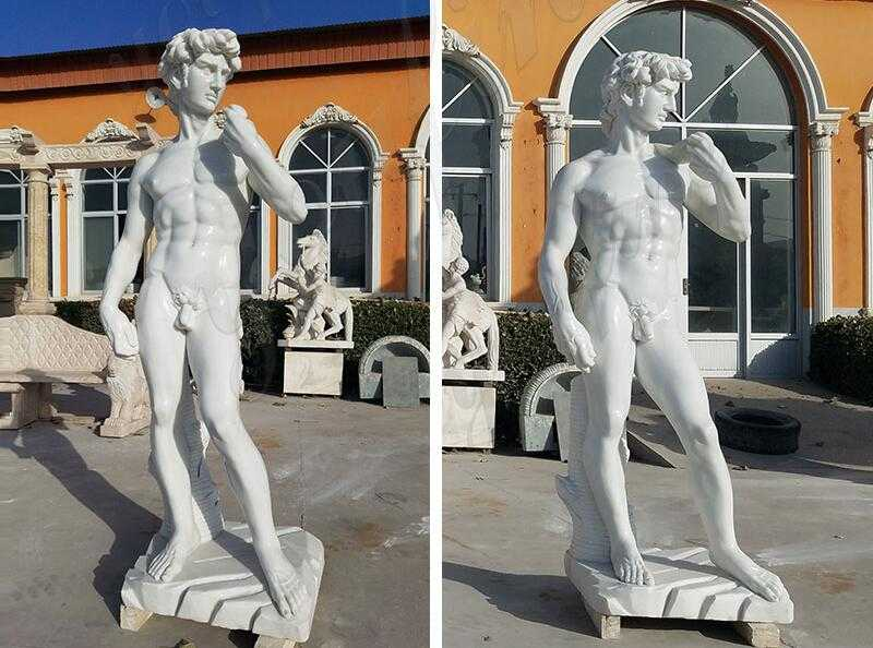 life size marble david statue for sale