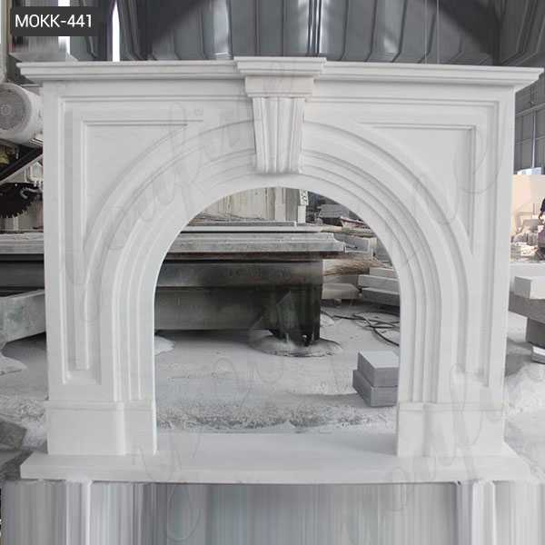 modern marble fireplace mantel for sale