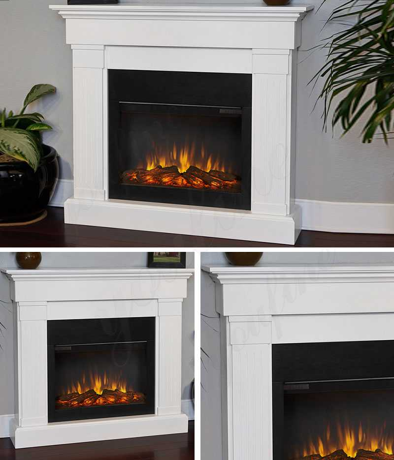 modern white marble fireplace mantel for sale