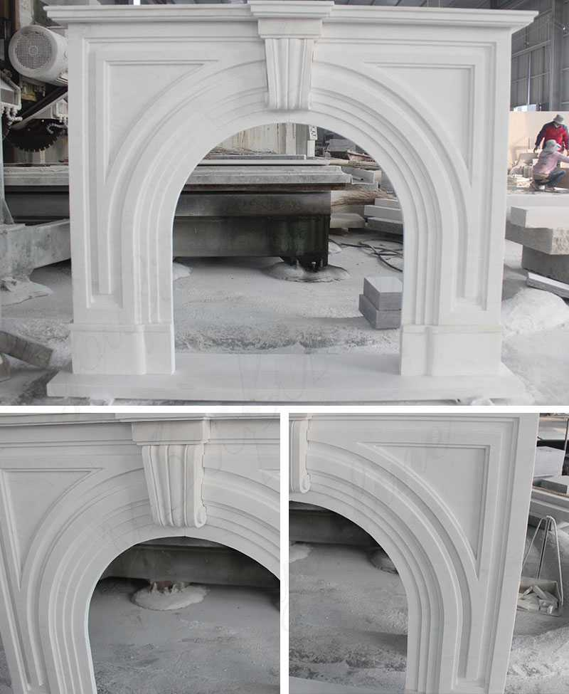 natural stone fire surround for sale