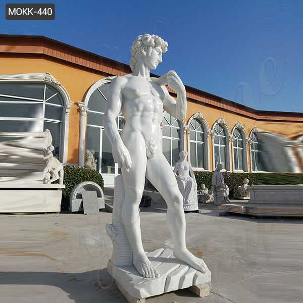 whtie marble david statue for sale