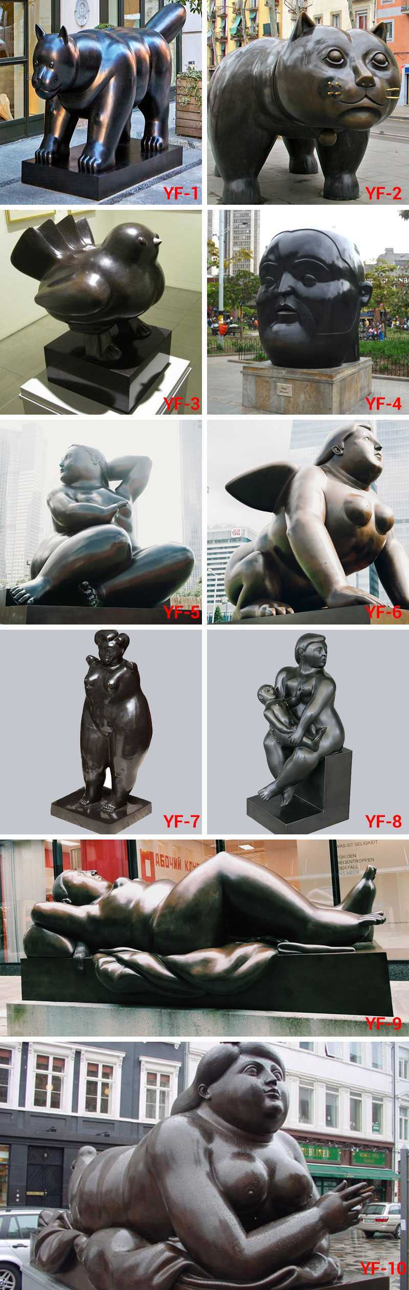 Botero Statue for sale