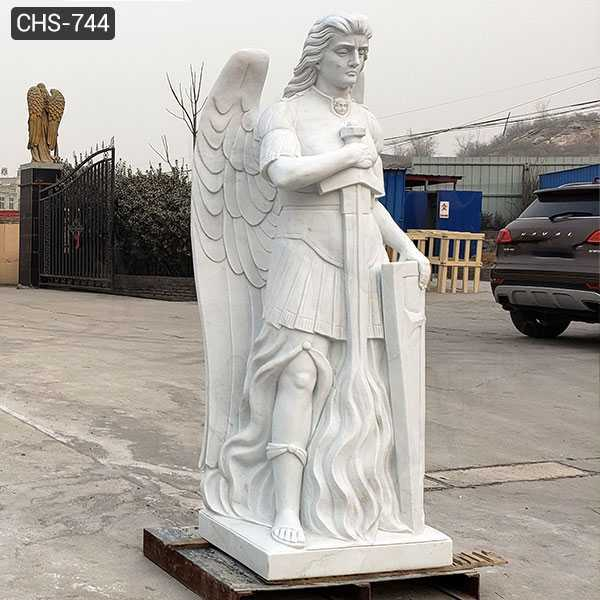 Famous Archangel Statue Catholic Saint Sculpture Design Replica for Sale