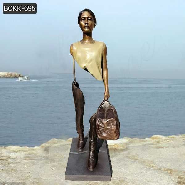 Famous Bronze Bruno Catalano Les Voyageurs Replica with Custom Made Design for Sale BOKK-695