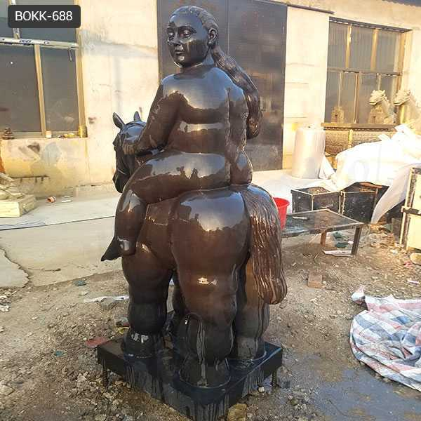 Famous Fernando Botero's Fat Animal Sculptures Style Horse Design Replica for Sale