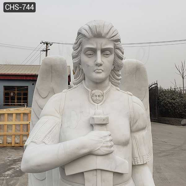 Famous Marble Archangel Statues Catholic Saint Sculpture Design Replica for Sale