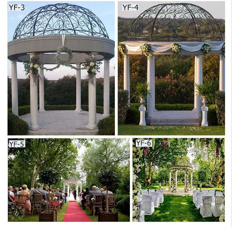 outdoor marble gazebo for weddings for sale