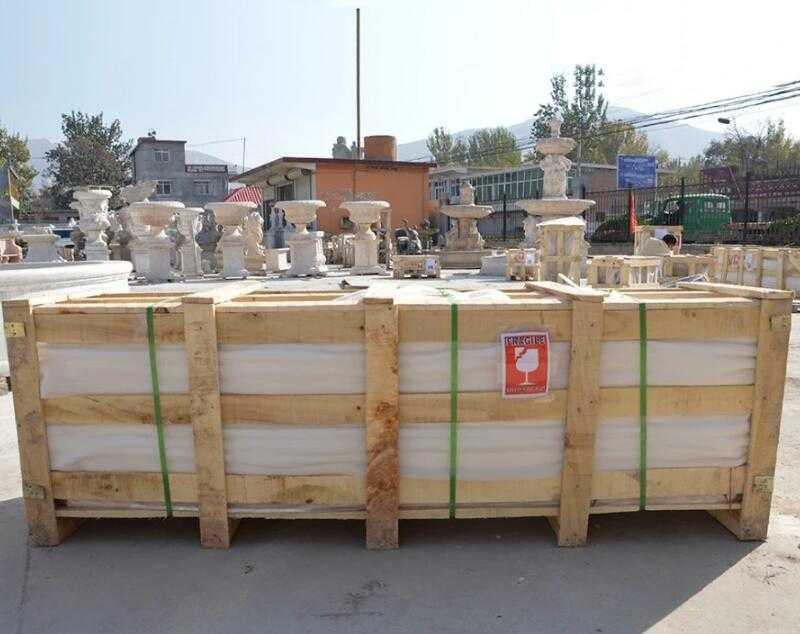 package of large marble gazebo
