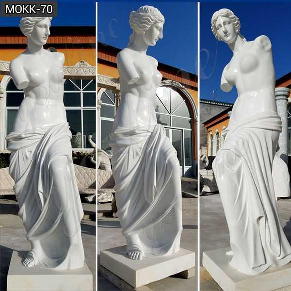 Famous life size Venus de milo marble statues designs for decor for sale