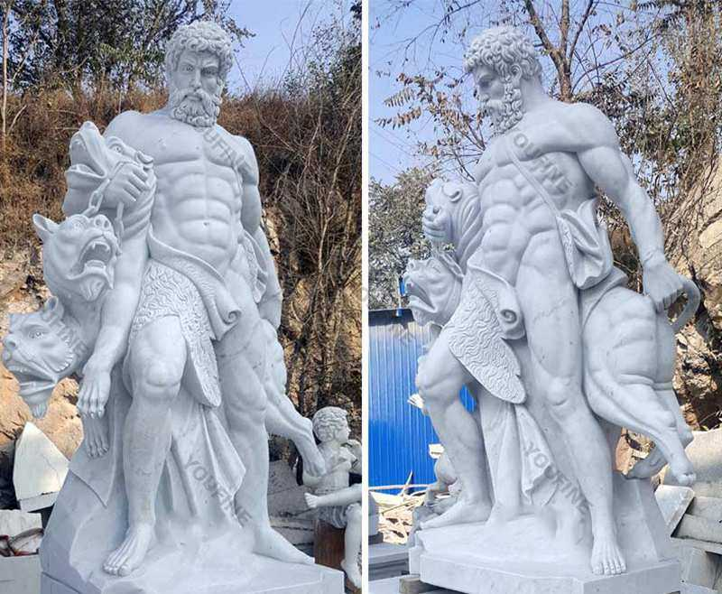 Famous Hero Heracles Statue for sale