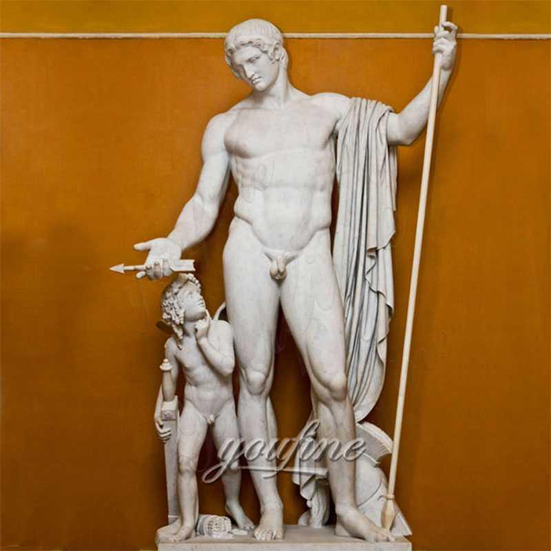 Famous-art-life-size-sculptures-Mars-and-Cupid-by-Bertel-Thorvaldsen-design-1